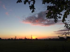 Sunrise in Rothley