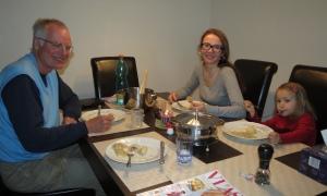 Dinner with Pavla