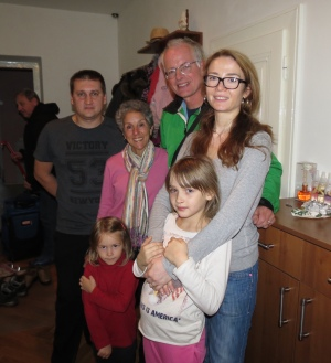 Rich, Molly and Pavla's family