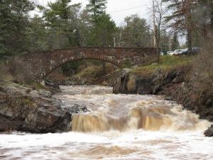 Amity Creek bridge
