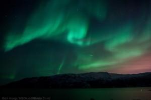 Mountain Fjord Aurora 1