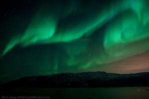 Mountain Fjord Aurora 2