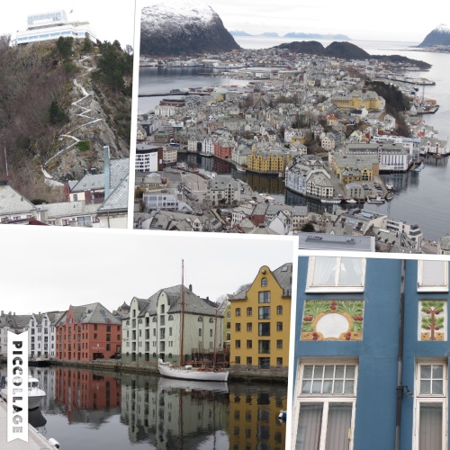 Sights of Alesund