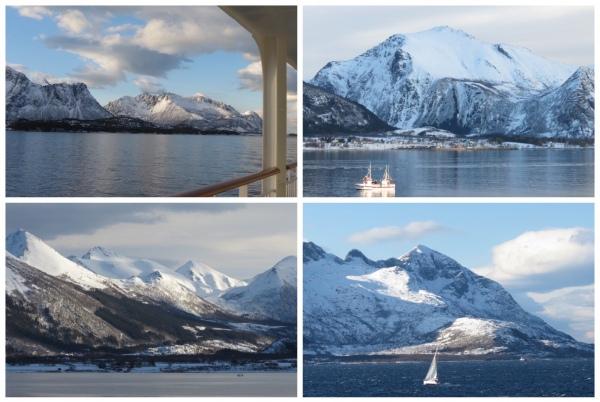 Coastal Views above the Arctic Circle
