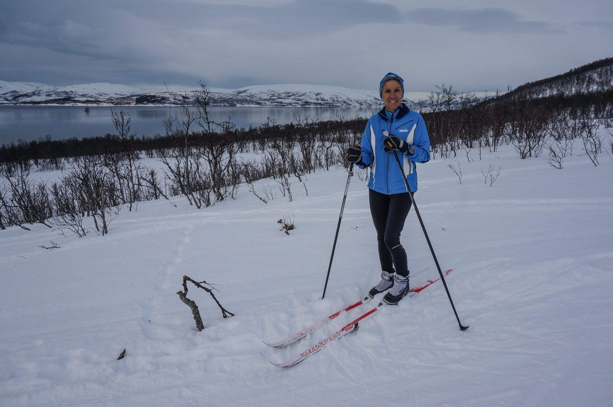 cross country skiing superior footprints