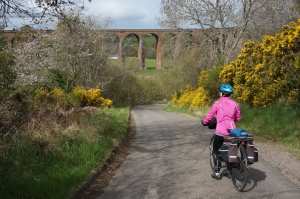 Molly and the Nairn Via Duct