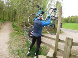 Rich hoisting bikes