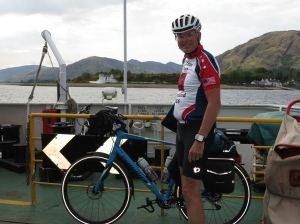 Rich on Corran ferry