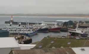 Fraserburgh harbor