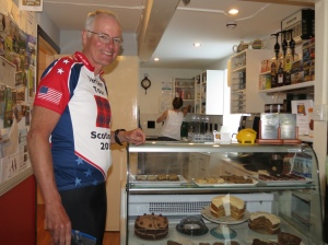 Rich at the Coffee Pot on Mull
