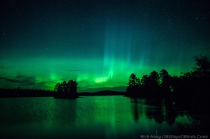 Northern Lights over Smith Lake
