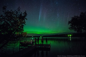3 Generations view the Northern Lights