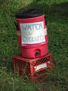 Water for cyclists