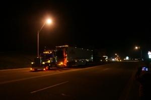 Truck show parade