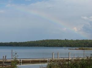 Drummond Island rainbow