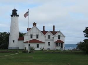 The real Point Iroquois Lighthouse