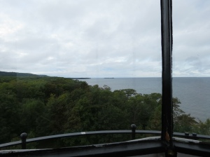 View from Point Iroquois Lighthouse