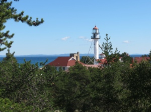 Alternate lighthouse view