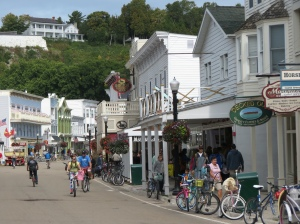 Mackinac Island Main Street 2