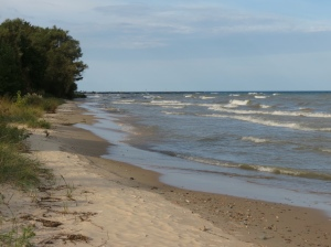 Lake Huron's waves