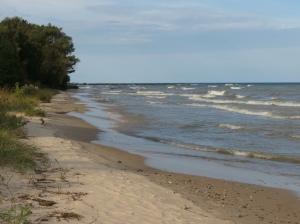 Lake Huron's waves