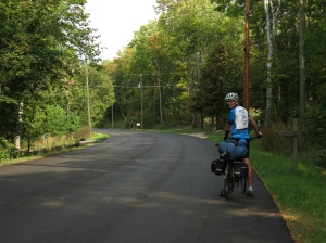 Rich cycling Door County