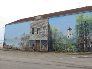 Mural in Baileys Harbor