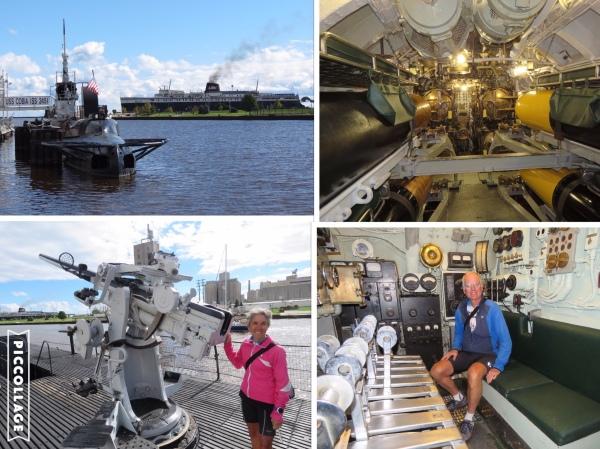 USS Corbia tour