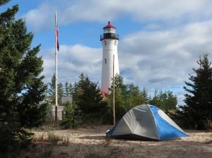 Tent at Crisp Point