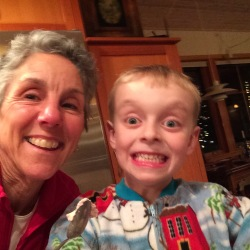 Grammy and Ben being silly