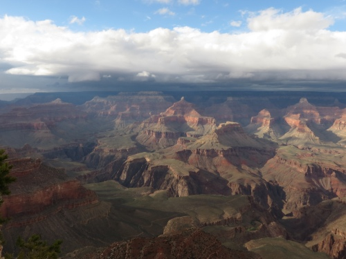Grand Canyon before storm 1