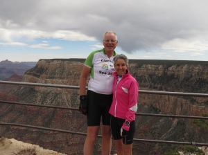 Molly and Rich at Grand Canyon