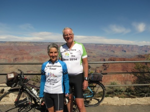 Cycling at Grand Canyon