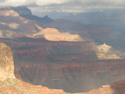 Grand Canyon after snow 1