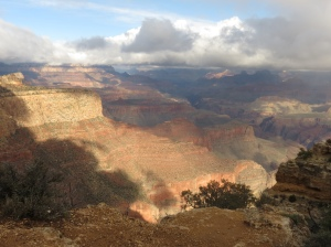 Grand Canyon after snow 2