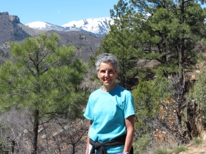Molly hiking in Durango
