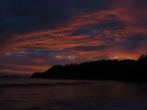 Final Costa Rica sunset