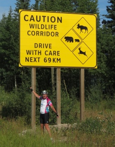 Rich and wildlife sign