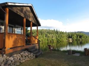Cabin on Lake Francois