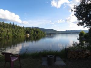 View of Lake Francois