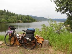 Bike at Lake Francois