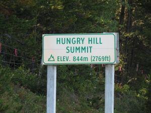 Hill sign