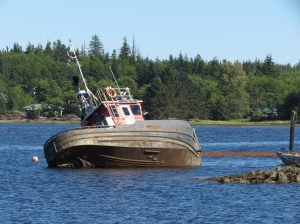 Port Clements boat