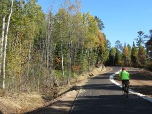 Myra cycling new trail