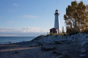 Lighthouse on arrival