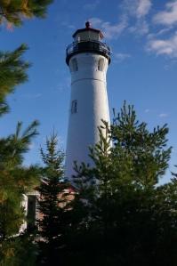 Lighthouse close-up