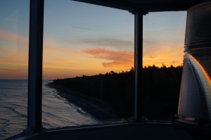 Sunrise from lighthouse