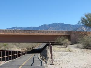 The Loop going under a bridge