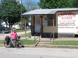 Molly at Taqueria shack