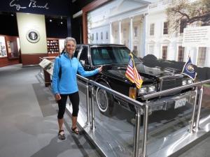 Molly and Bush's limo